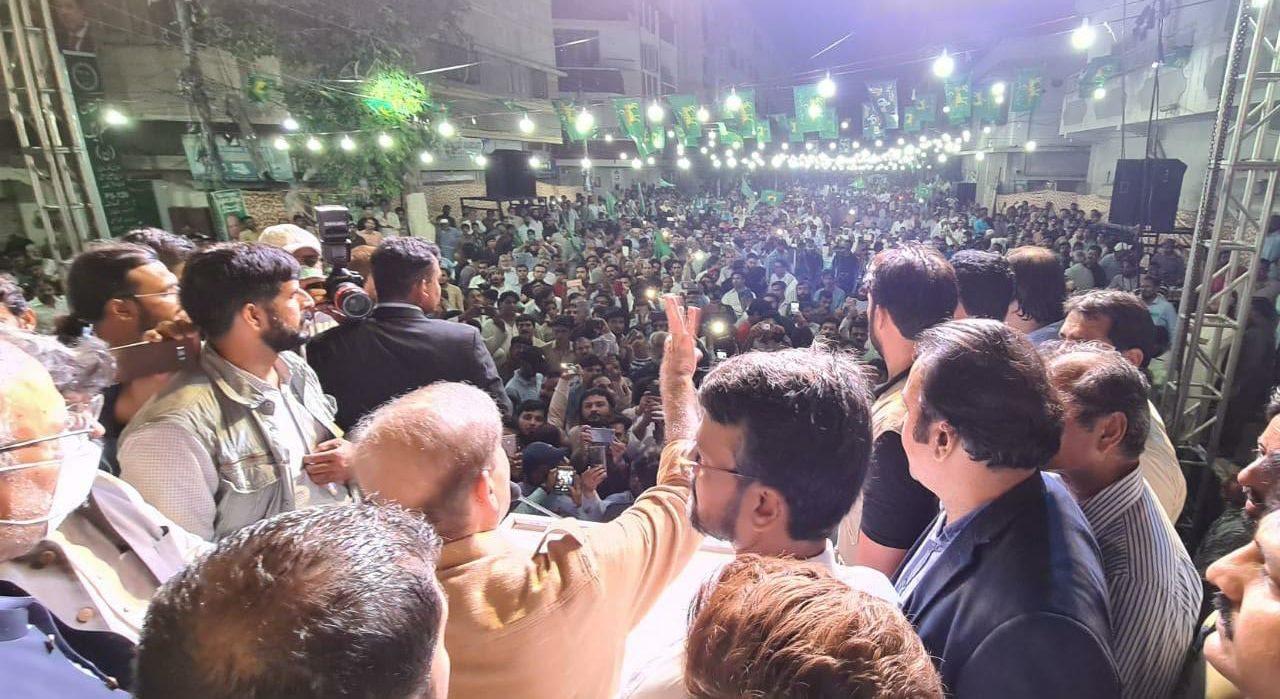 Shehbaz Sharif trip to Karachi: Meeting workers in NA 249 and Nazimabad Jalsa